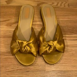 Forever 21 Gold Knot Sandals